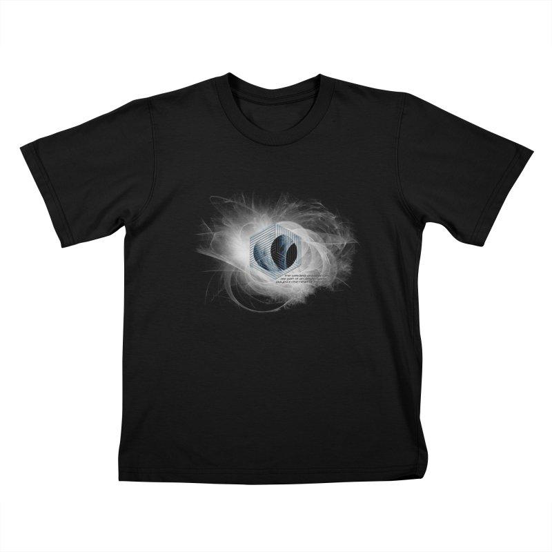 Nietzsche and Dissonance Kids T-shirt by itelchan's Artist Shop