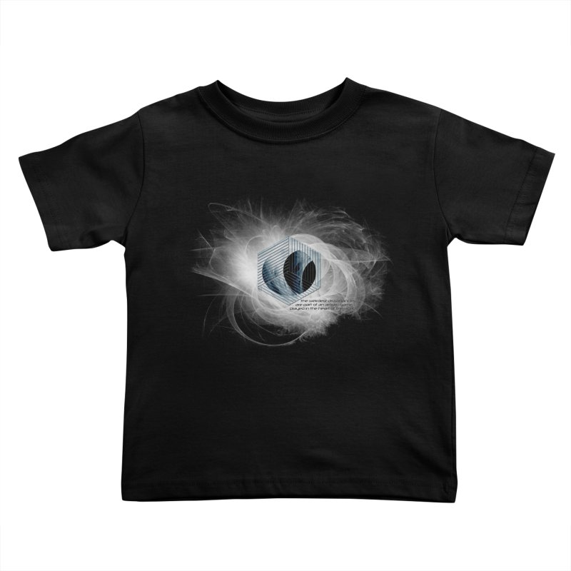 Nietzsche and Dissonance Kids Toddler T-Shirt by itelchan's Artist Shop