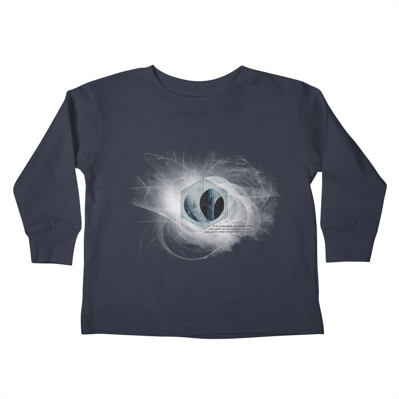 Nietzsche and Dissonance Kids Toddler Longsleeve T-Shirt by itelchan's Artist Shop