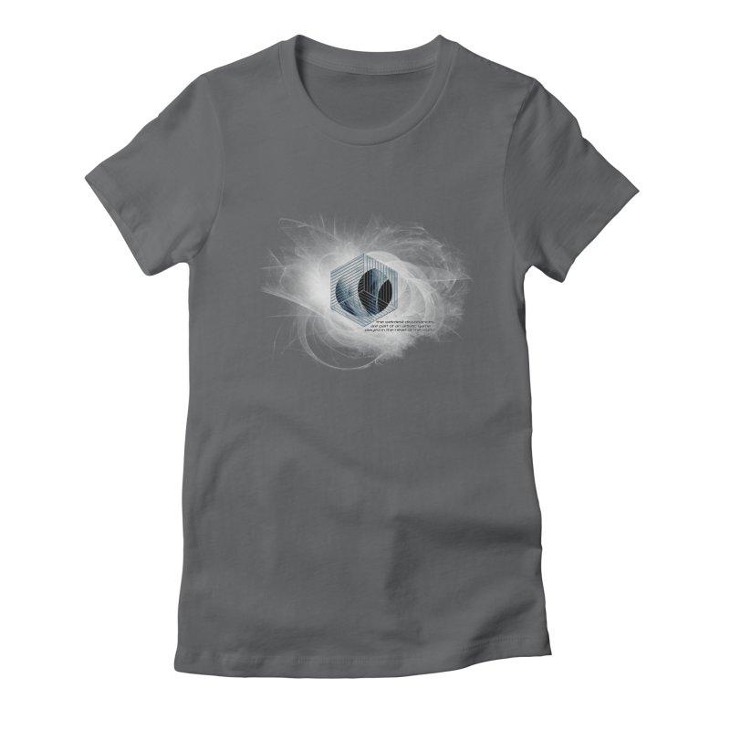 Nietzsche and Dissonance Women's Fitted T-Shirt by itelchan's Artist Shop