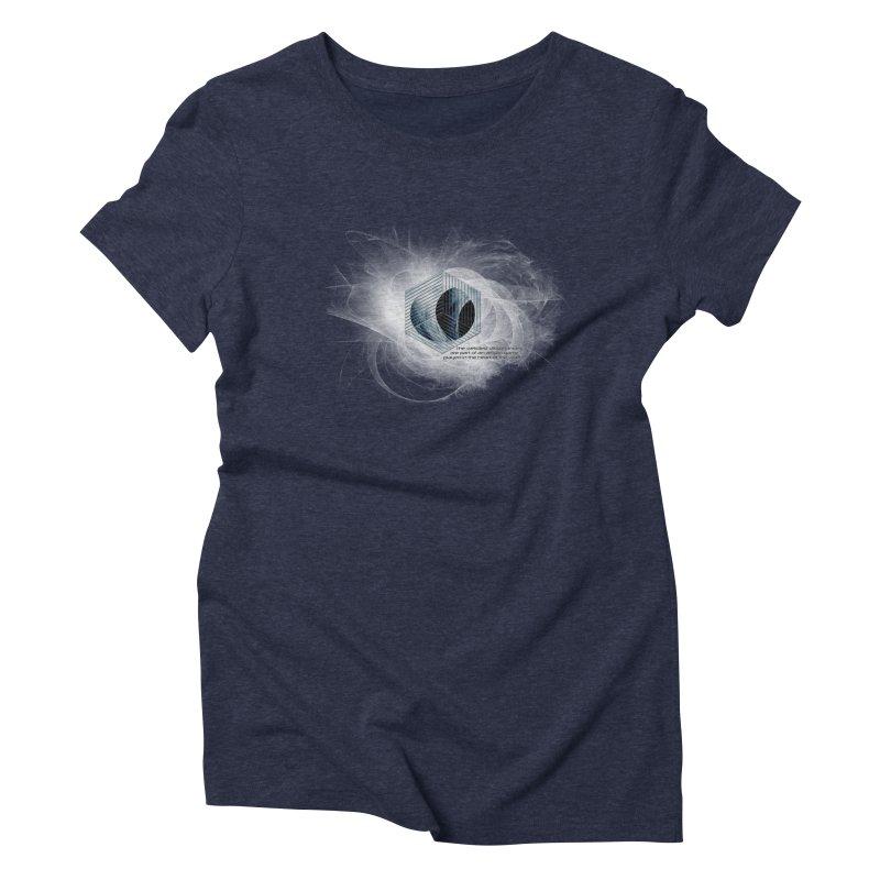 Nietzsche and Dissonance Women's Triblend T-shirt by itelchan's Artist Shop