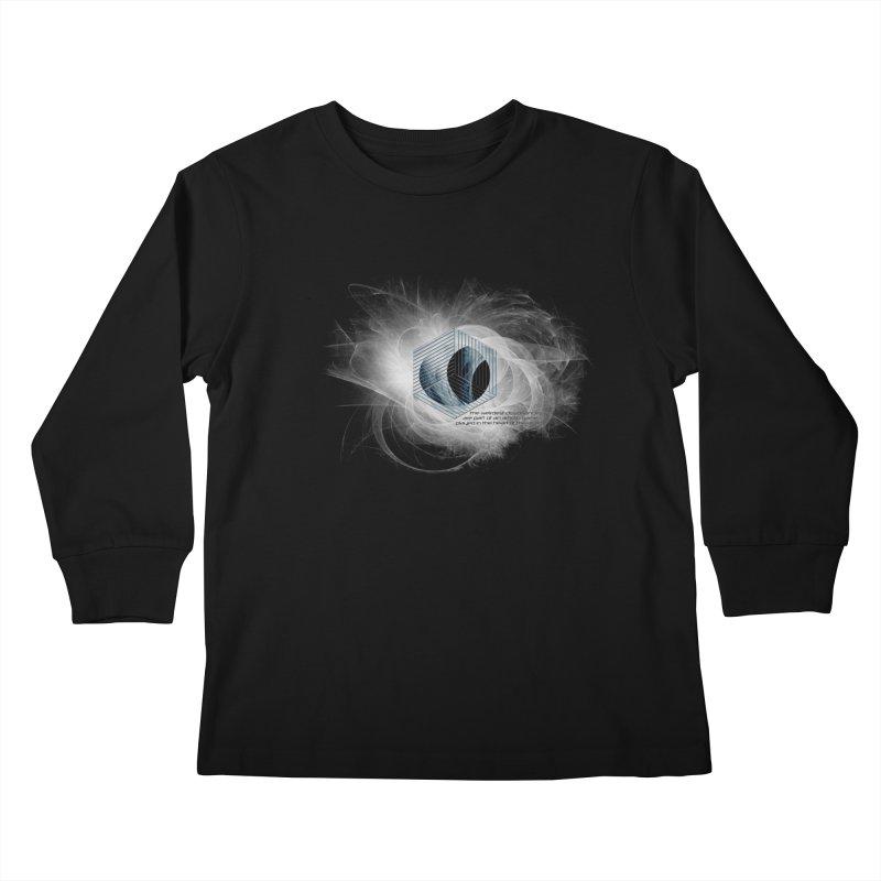 Nietzsche and Dissonance Kids Longsleeve T-Shirt by itelchan's Artist Shop