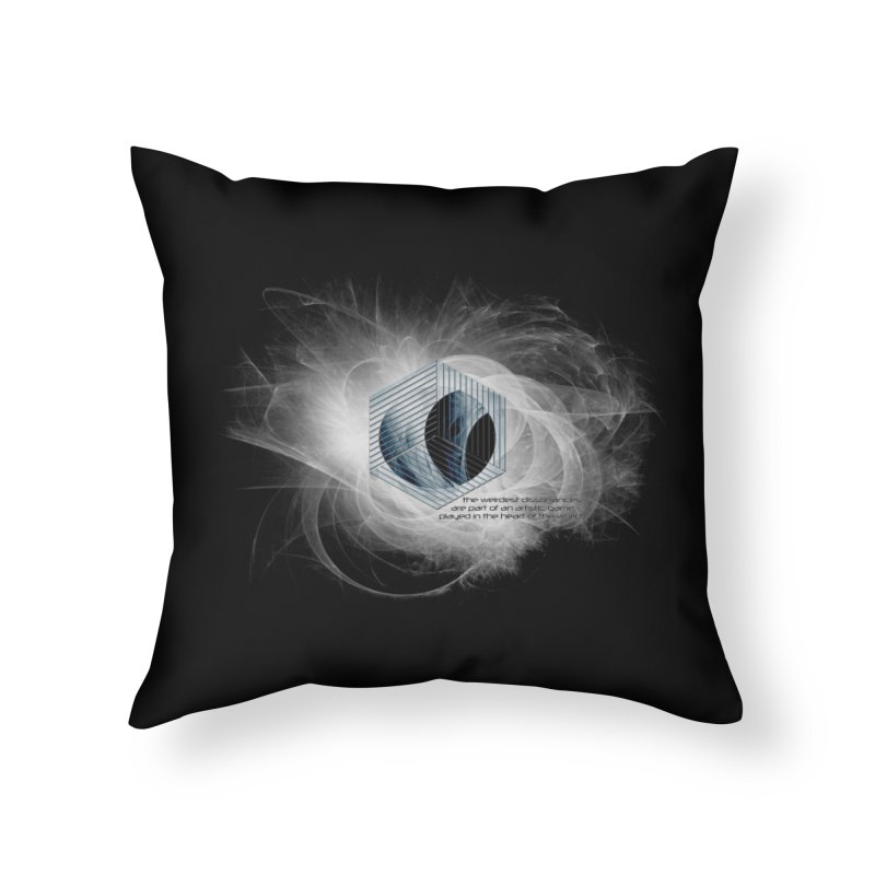 Nietzsche and Dissonance Home Throw Pillow by itelchan's Artist Shop