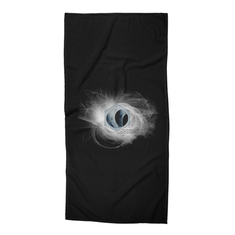Nietzsche and Dissonance Accessories Beach Towel by itelchan's Artist Shop