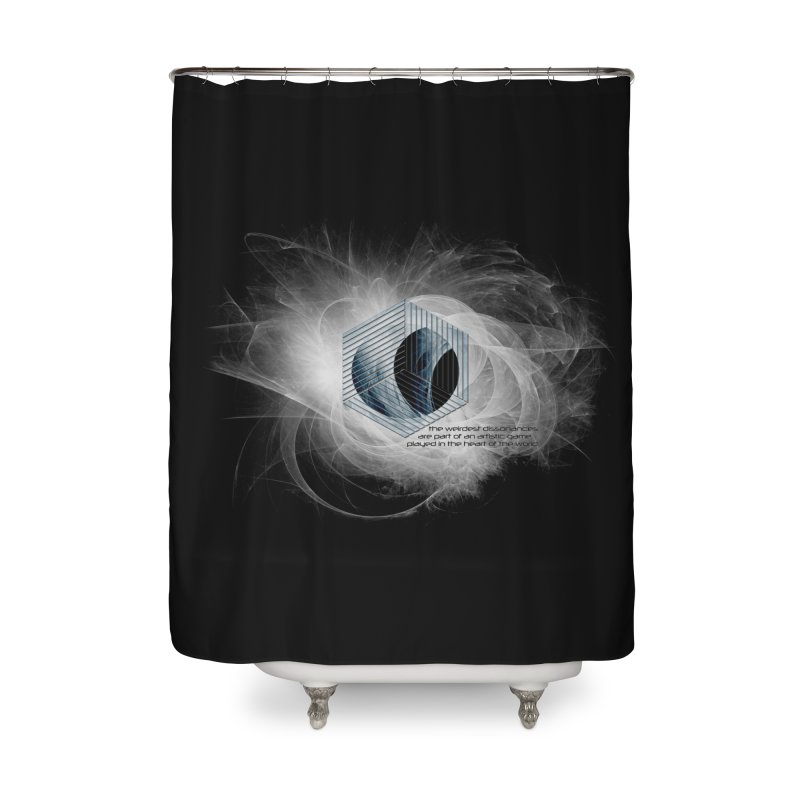 Nietzsche and Dissonance Home Shower Curtain by itelchan's Artist Shop