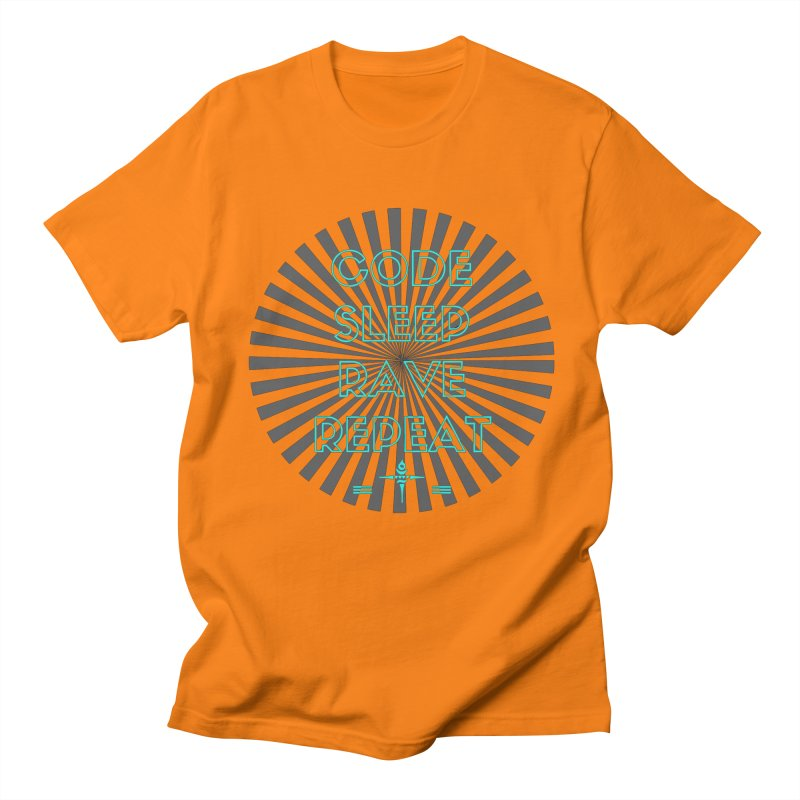 Code Sleep Rave Repeat Women's Unisex T-Shirt by itelchan's Artist Shop