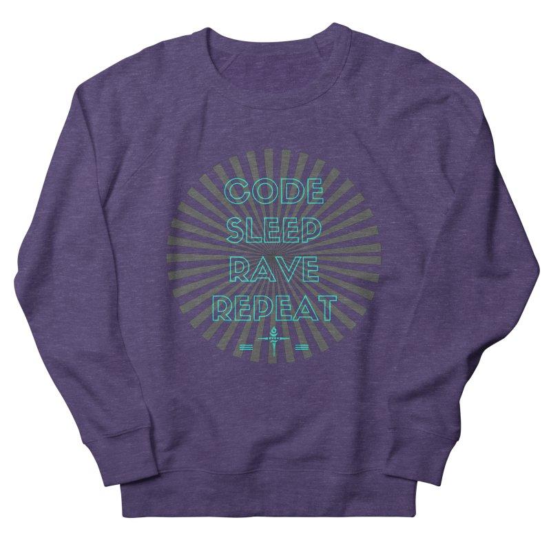 Code Sleep Rave Repeat Men's Sweatshirt by itelchan's Artist Shop