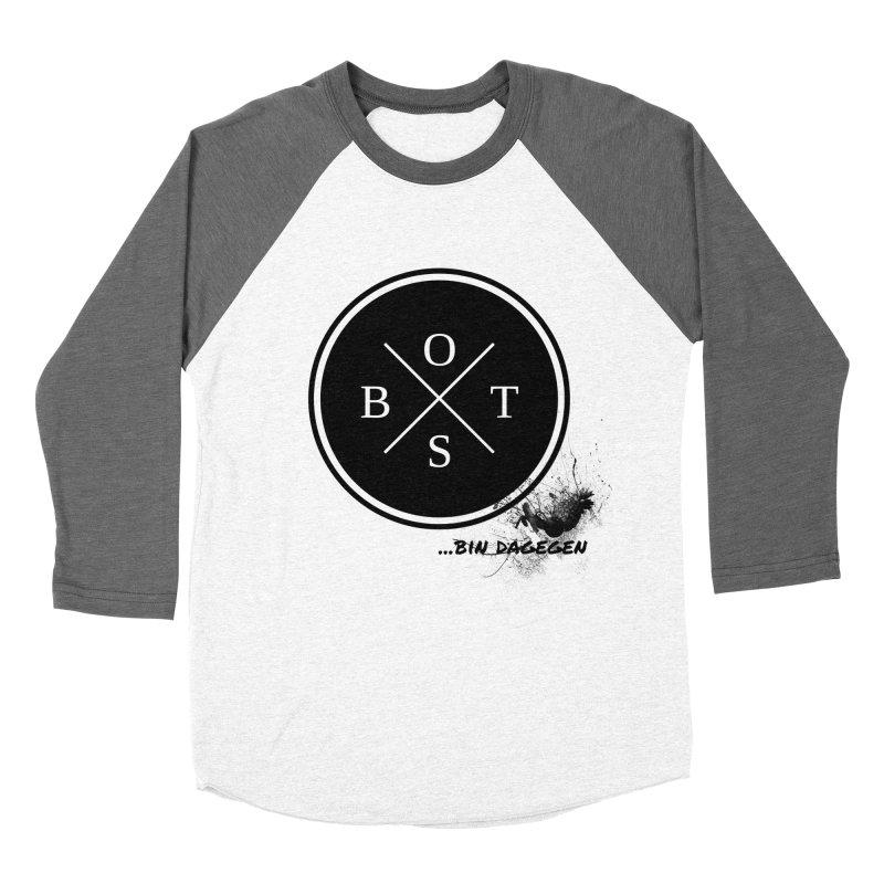 Gegen Obst - Against Fruits Men's Baseball Triblend T-Shirt by itelchan's Artist Shop