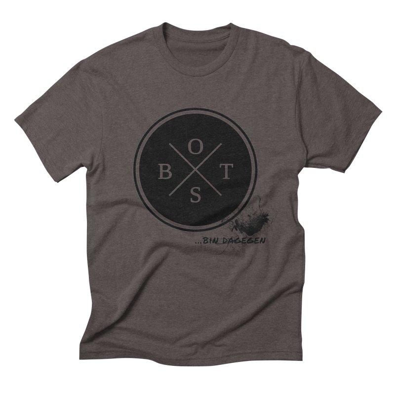 Gegen Obst - Against Fruits Men's Triblend T-shirt by itelchan's Artist Shop