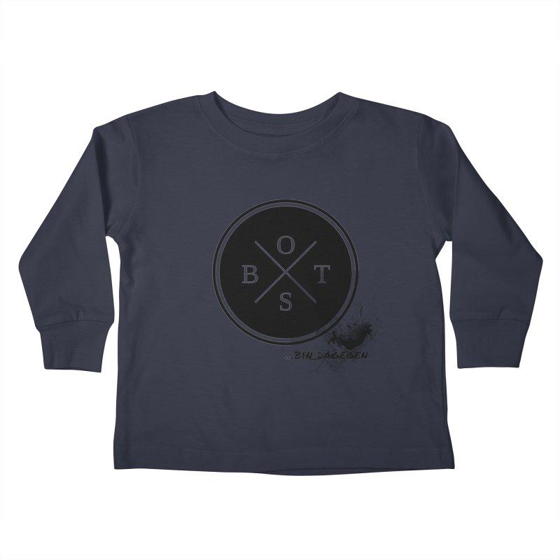 Gegen Obst - Against Fruits Kids Toddler Longsleeve T-Shirt by itelchan's Artist Shop