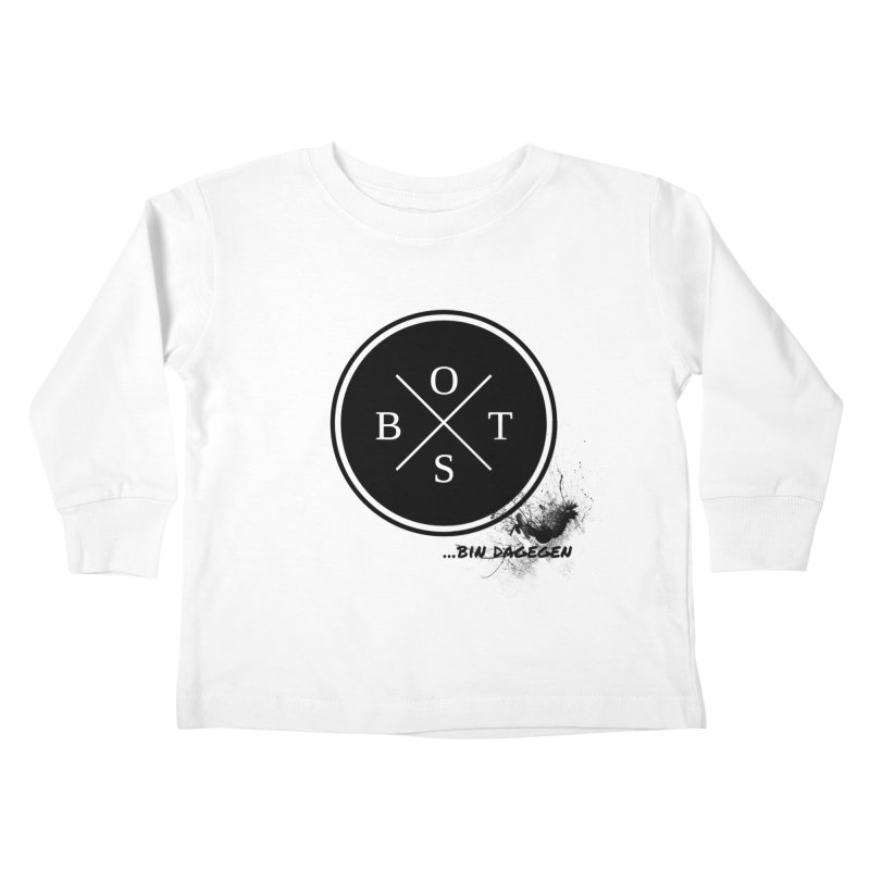 Gegen Obst - Against Fruits Kids Toddler Longsleeve T-Shirt by itelchan's Artist Shop