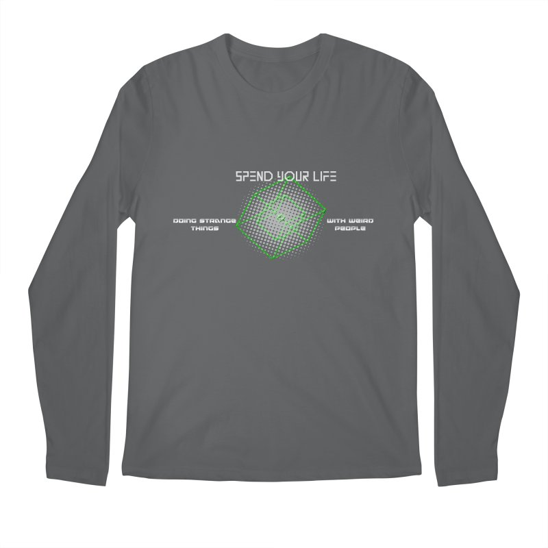 Strange Things - Weird People Men's Longsleeve T-Shirt by itelchan's Artist Shop