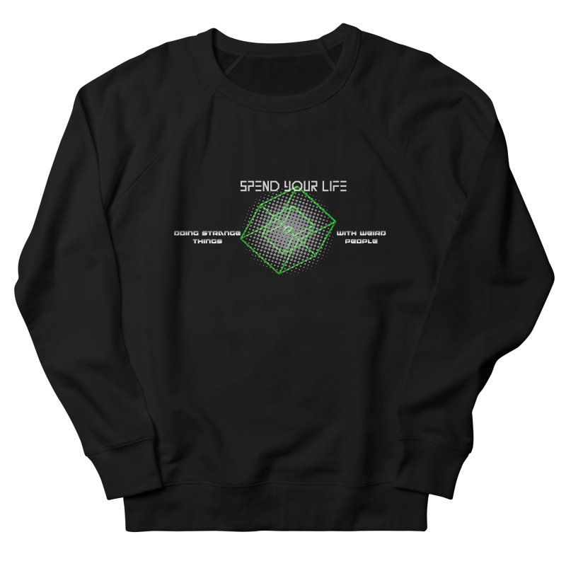 Strange Things - Weird People Men's Sweatshirt by itelchan's Artist Shop