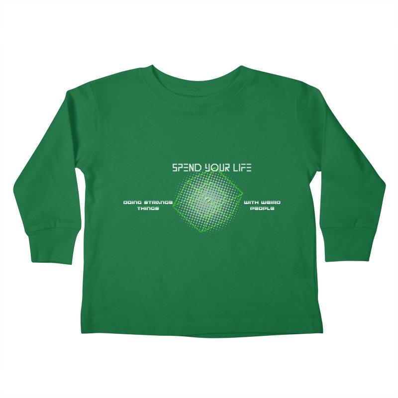 Strange Things - Weird People Kids Toddler Longsleeve T-Shirt by itelchan's Artist Shop