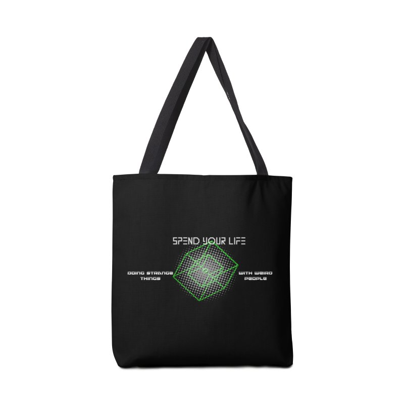 Strange Things - Weird People Accessories Bag by itelchan's Artist Shop