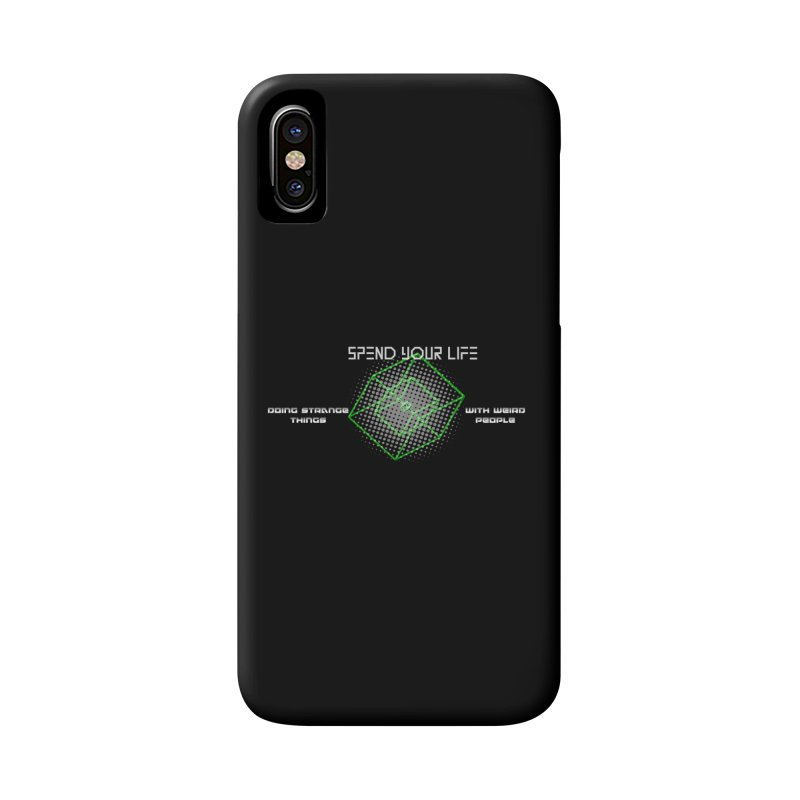 Strange Things - Weird People Accessories Phone Case by itelchan's Artist Shop