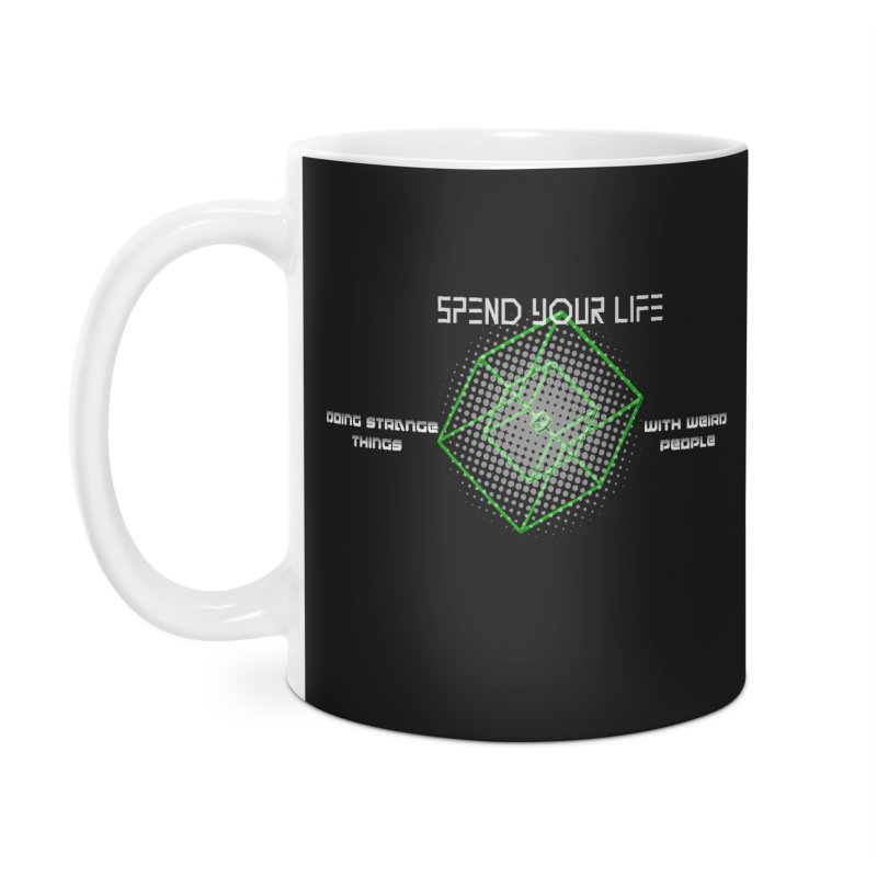 Strange Things - Weird People Accessories Mug by itelchan's Artist Shop