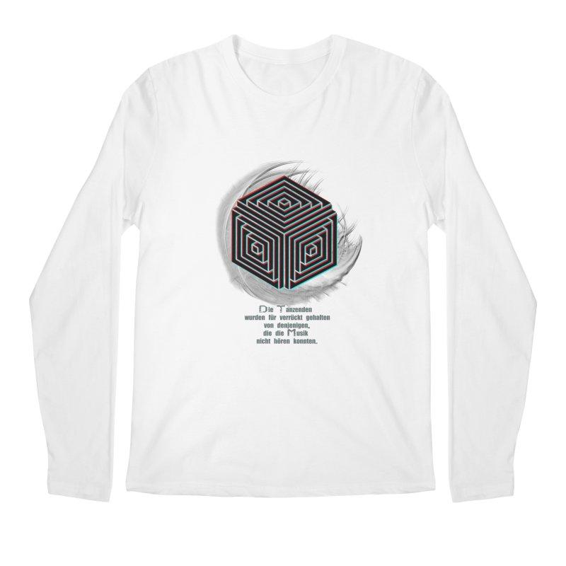 Für Verrückt Gehalten Men's Longsleeve T-Shirt by itelchan's Artist Shop