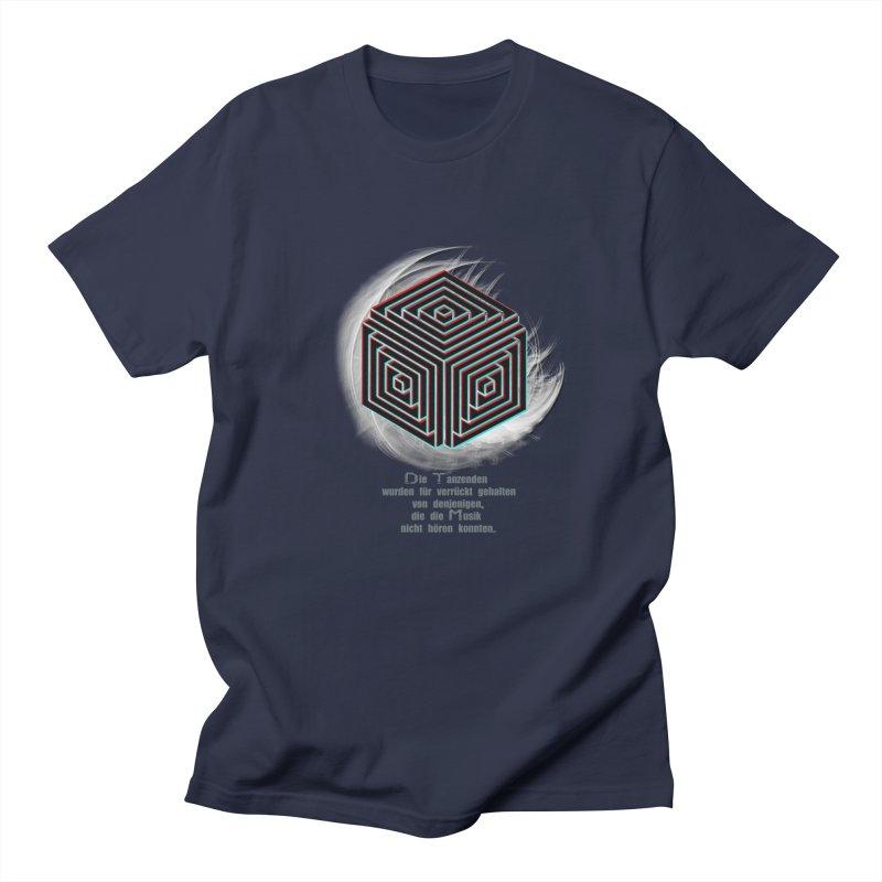 Für Verrückt Gehalten Men's T-shirt by itelchan's Artist Shop