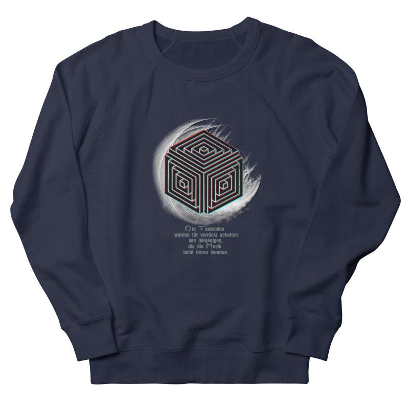 Für Verrückt Gehalten Men's Sweatshirt by itelchan's Artist Shop