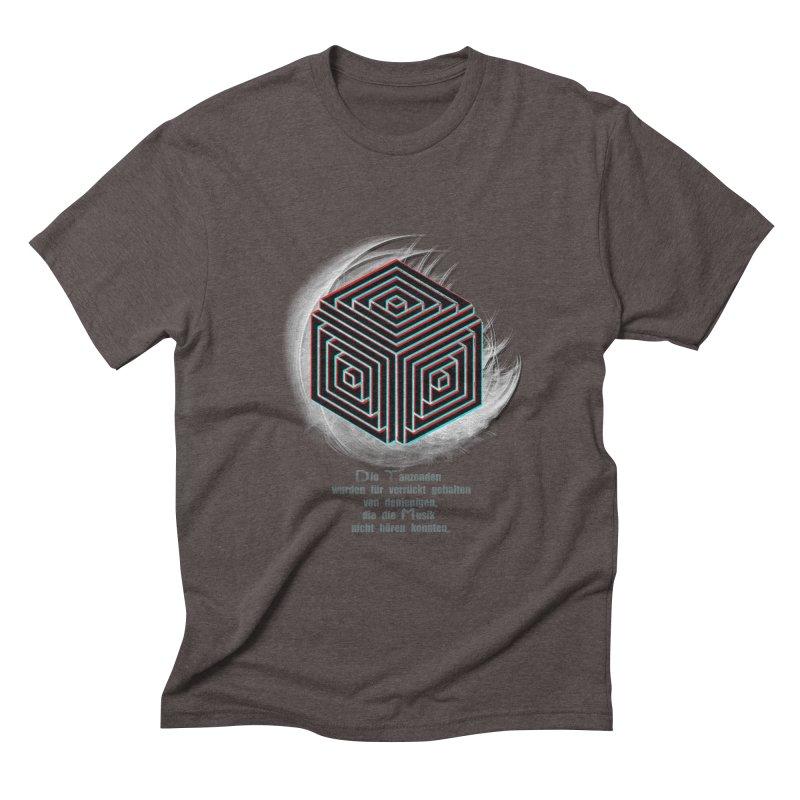 Für Verrückt Gehalten Men's Triblend T-shirt by itelchan's Artist Shop