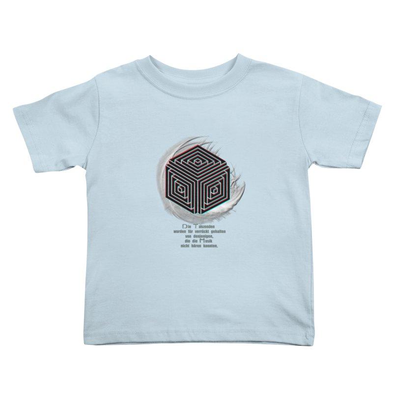 Für Verrückt Gehalten Kids Toddler T-Shirt by itelchan's Artist Shop