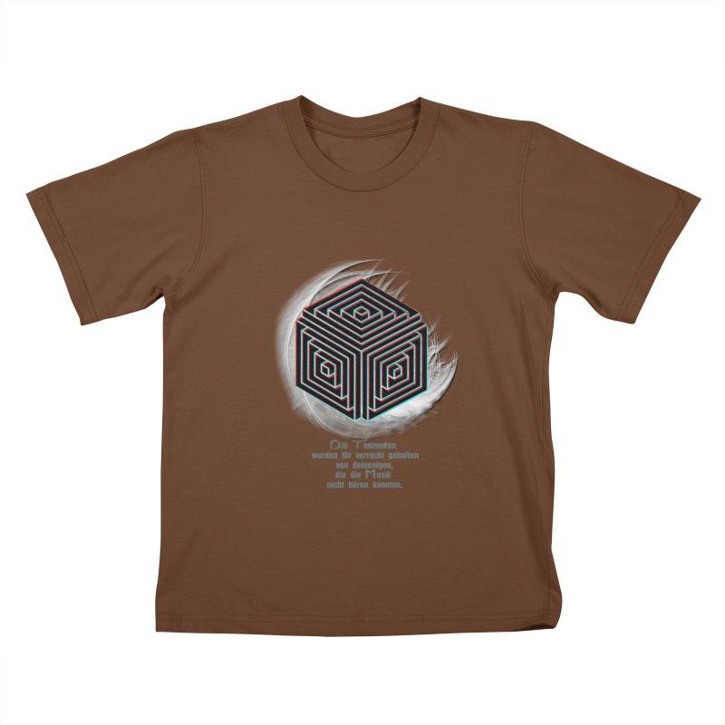 Für Verrückt Gehalten Kids T-shirt by itelchan's Artist Shop