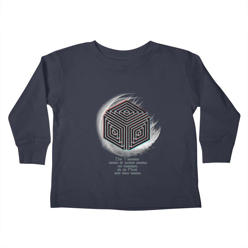 Für Verrückt Gehalten Kids Toddler Longsleeve T-Shirt by itelchan's Artist Shop