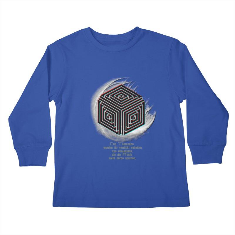 Für Verrückt Gehalten Kids Longsleeve T-Shirt by itelchan's Artist Shop