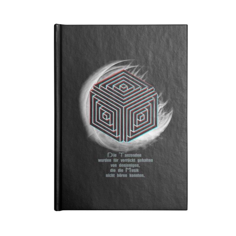 Für Verrückt Gehalten Accessories Notebook by itelchan's Artist Shop