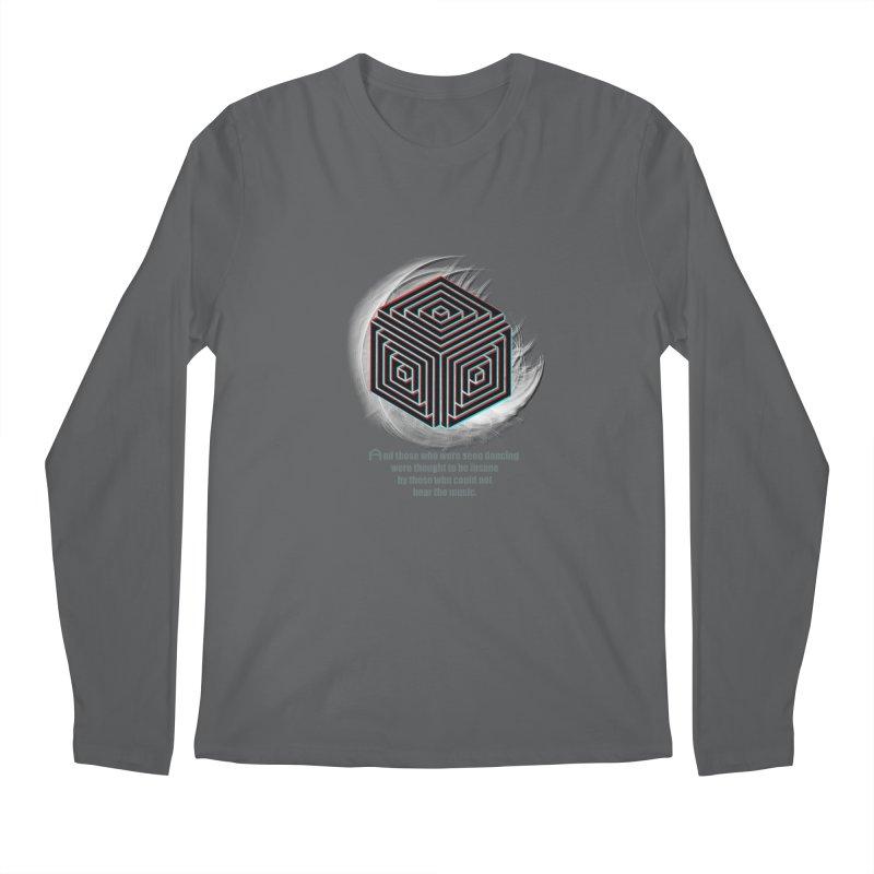 Considered Crazy Men's Longsleeve T-Shirt by itelchan's Artist Shop