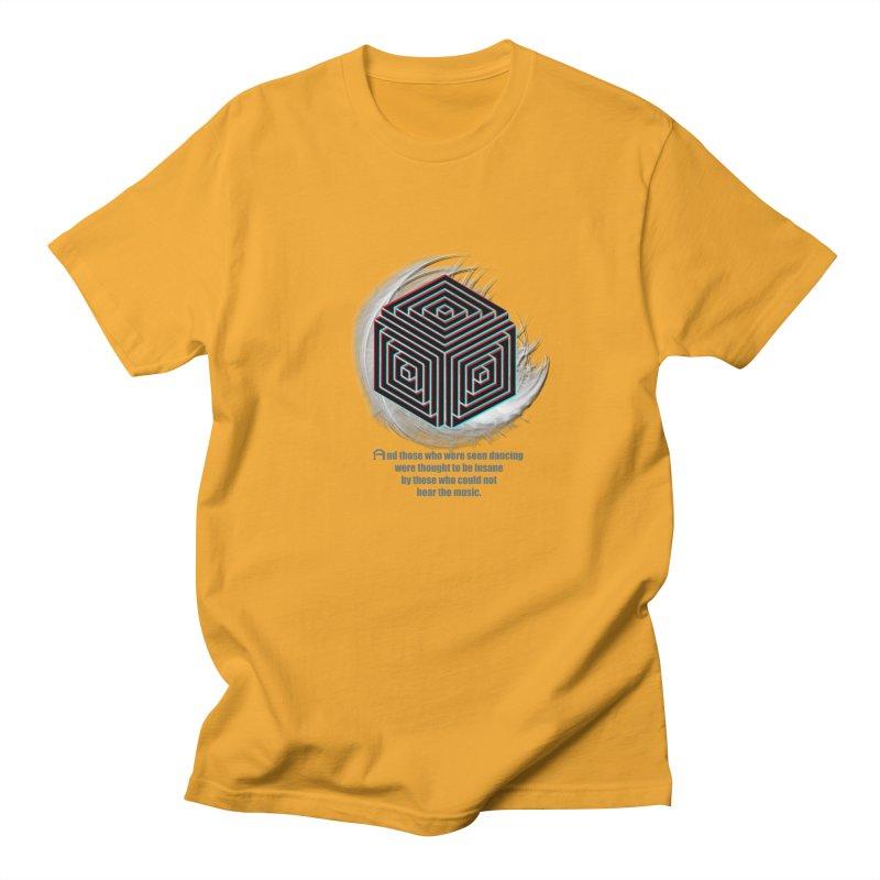 Considered Crazy Men's T-Shirt by itelchan's Artist Shop