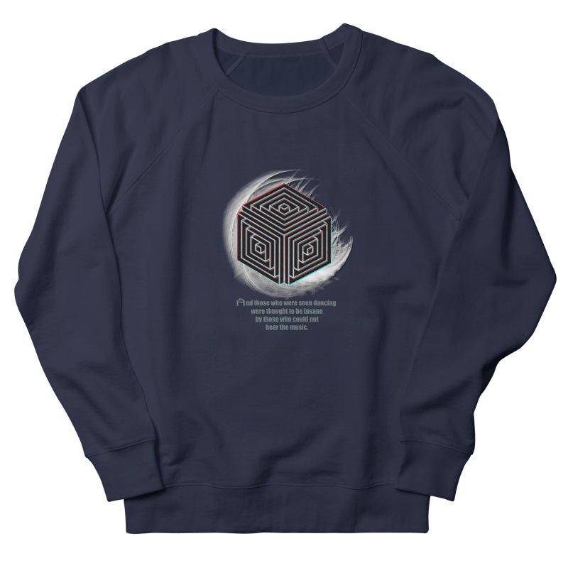 Considered Crazy Men's Sweatshirt by itelchan's Artist Shop