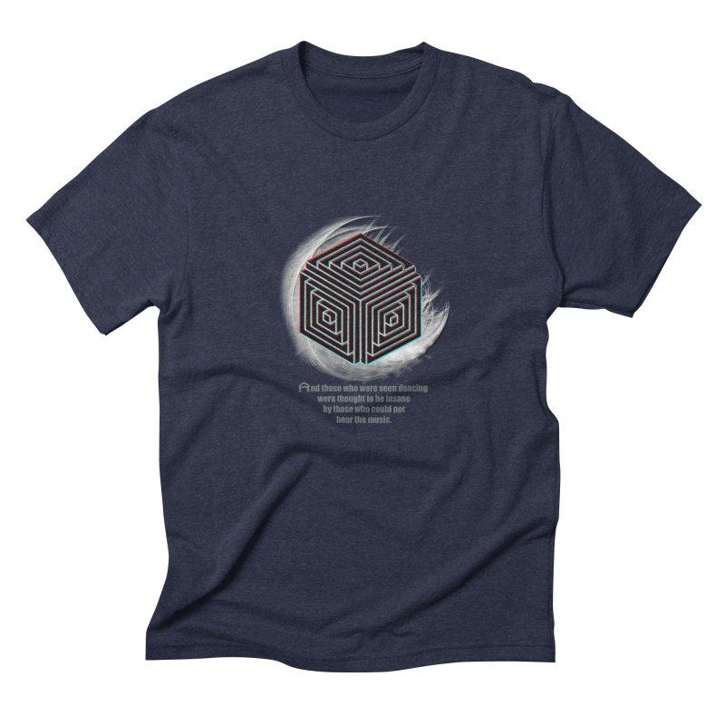 Considered Crazy Men's Triblend T-shirt by itelchan's Artist Shop