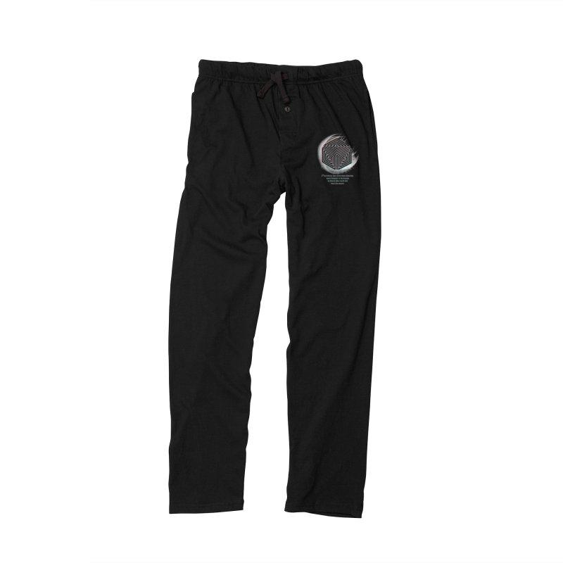Considered Crazy Men's Lounge Pants by itelchan's Artist Shop