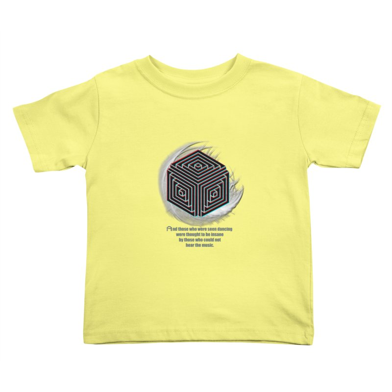 Considered Crazy Kids Toddler T-Shirt by itelchan's Artist Shop