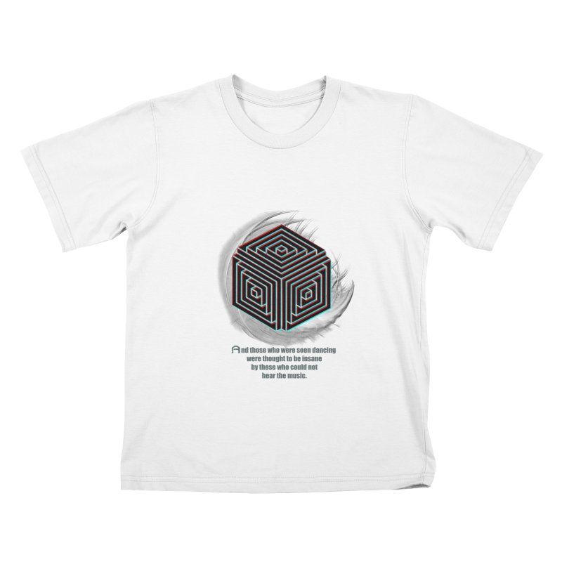 Considered Crazy Kids T-shirt by itelchan's Artist Shop