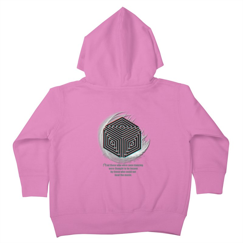 Considered Crazy Kids Toddler Zip-Up Hoody by itelchan's Artist Shop