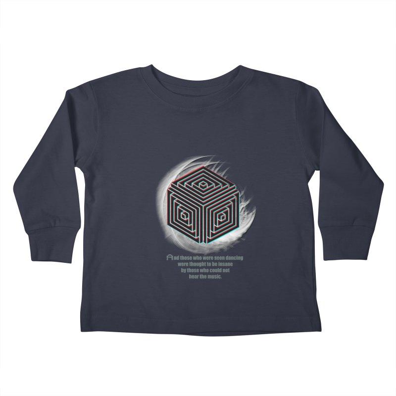 Considered Crazy Kids Toddler Longsleeve T-Shirt by itelchan's Artist Shop