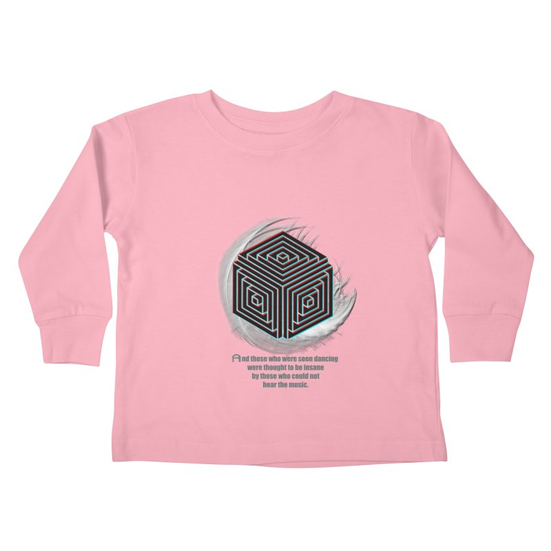 Considered Crazy Kids Toddler Longsleeve T-Shirt by itelchan's Artist Shop