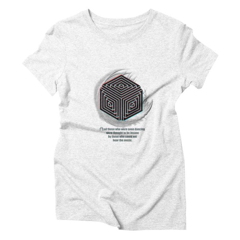 Considered Crazy Women's Triblend T-shirt by itelchan's Artist Shop