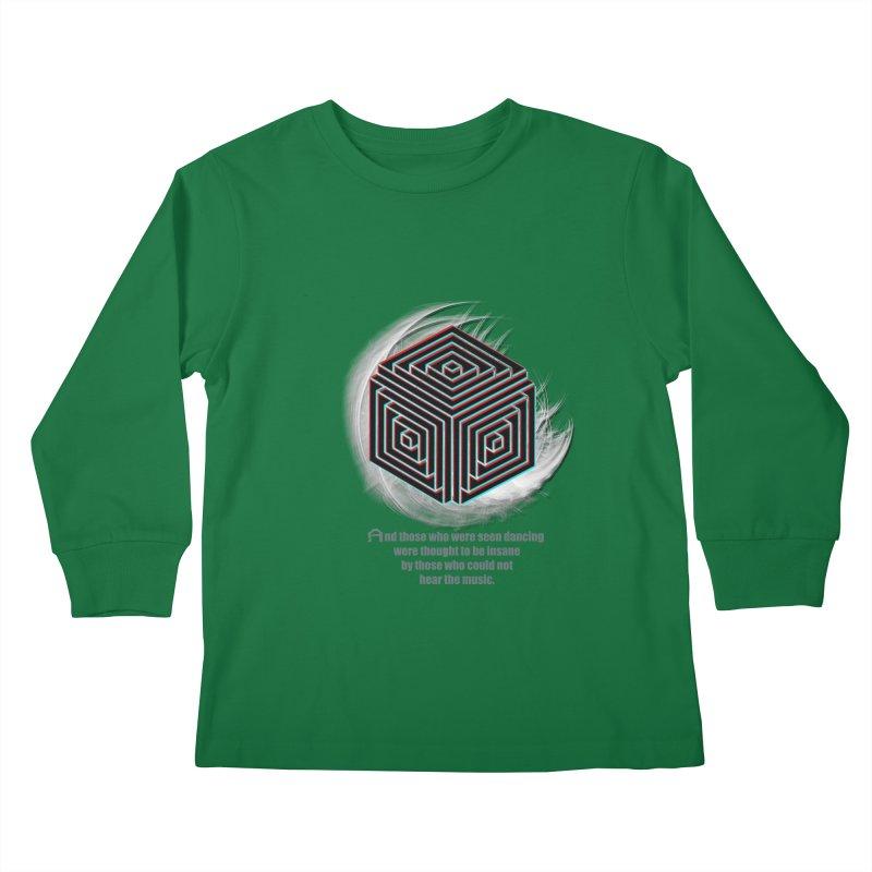Considered Crazy Kids Longsleeve T-Shirt by itelchan's Artist Shop