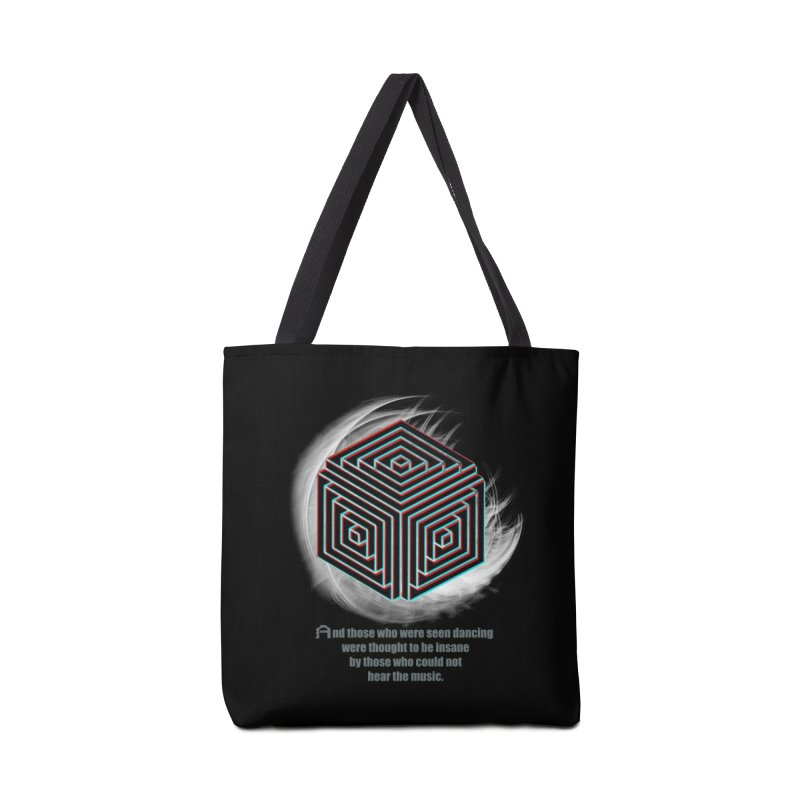 Considered Crazy Accessories Bag by itelchan's Artist Shop