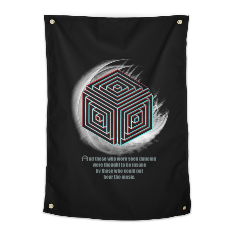 Considered Crazy Home Tapestry by itelchan's Artist Shop