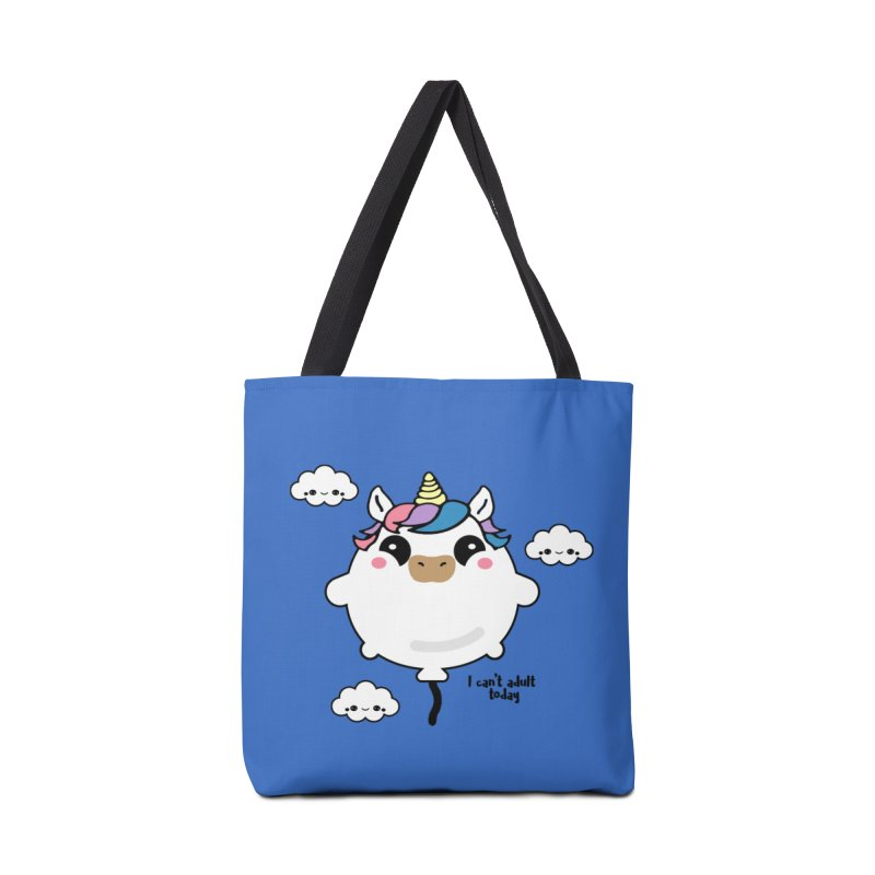 I can't adult today Accessories Bag by itelchan's Artist Shop