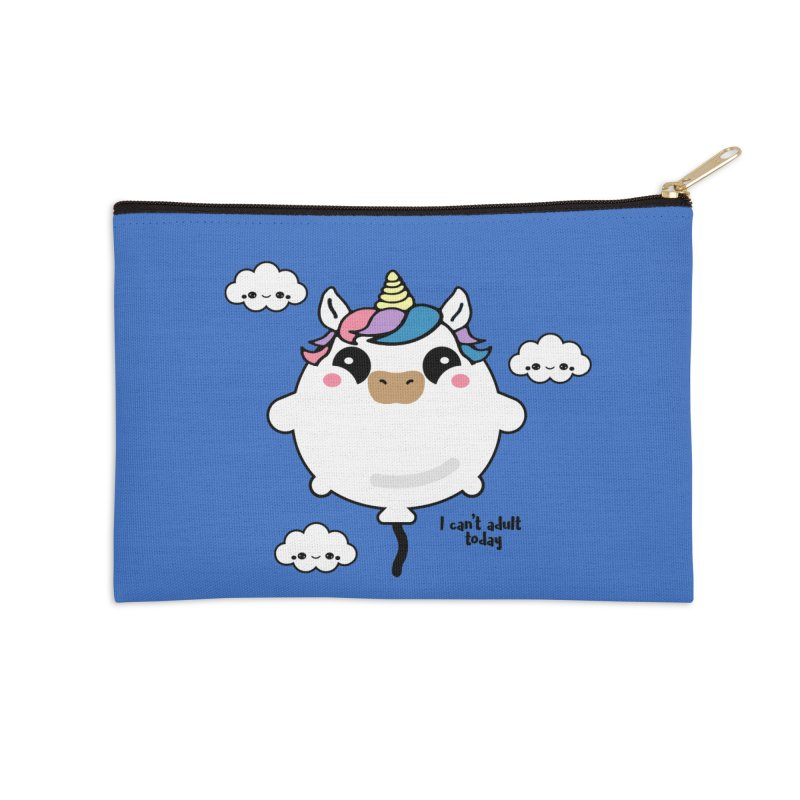 I can't adult today Accessories Zip Pouch by itelchan's Artist Shop