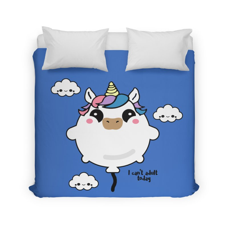 I can't adult today Home Duvet by itelchan's Artist Shop
