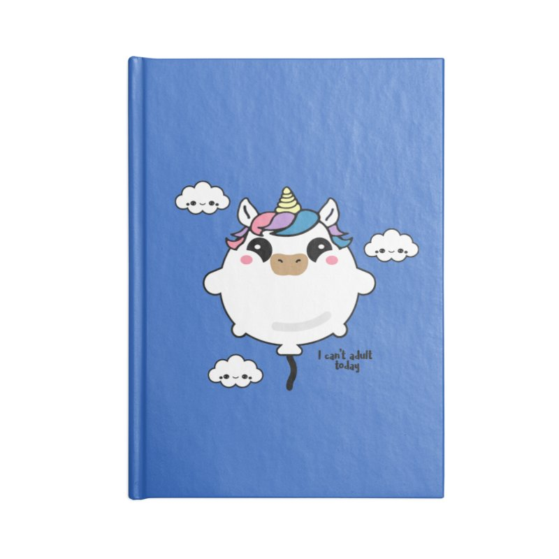 I can't adult today Accessories Notebook by itelchan's Artist Shop