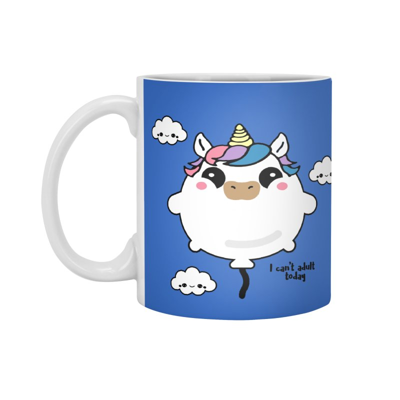 I can't adult today Accessories Mug by itelchan's Artist Shop