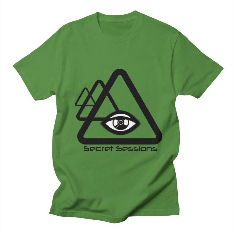 Secret Sessions Men's T-Shirt by itelchan's Artist Shop